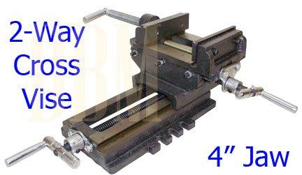 2 Way Cross Vise Clamp Holder Drilling Milling Machine Cross Slide Drill 4
