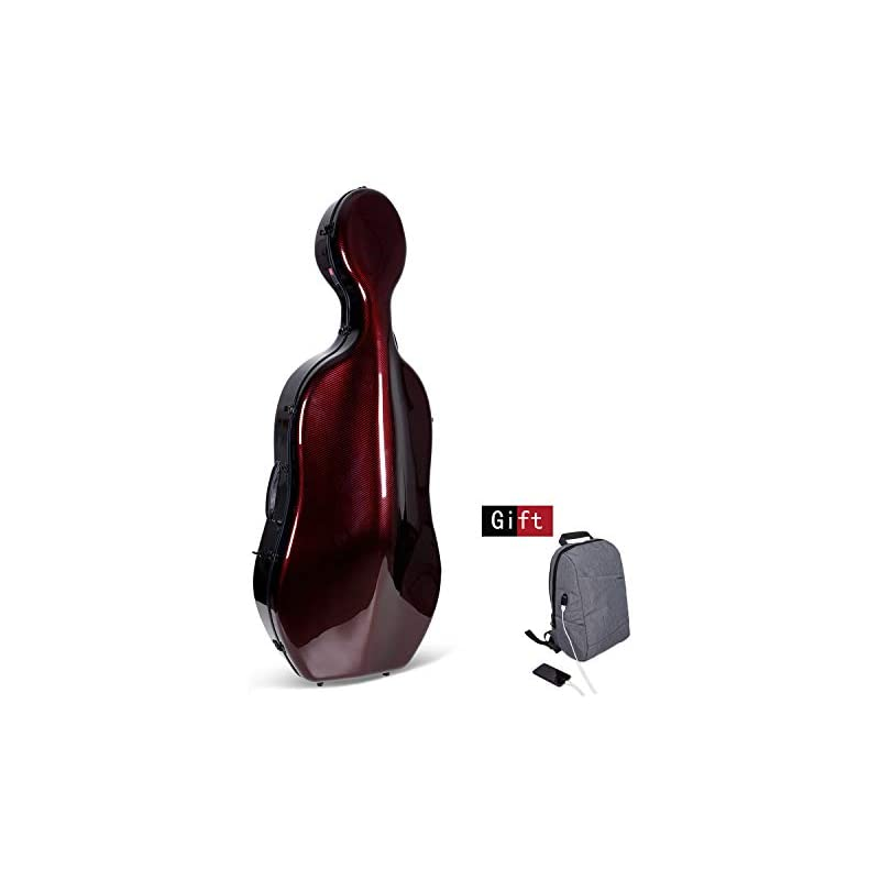 Crossrock Cello Case Fits Montagnana and