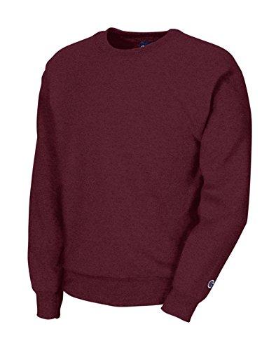 Champion Boys Big Boys' Powerblend Eco Fleece Sweatshirt, Maroon, S