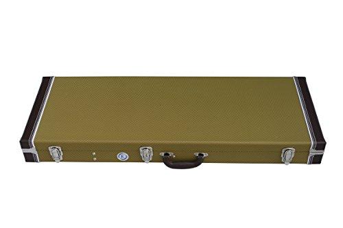 (Tweed Hard Shell Guitar Case for Strat & Tele Guitars)