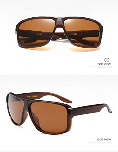 Aviator Hombre UV Protección 400 Sol para para De C2 Gafas Mujer Polarizadas C1 wtqHt0T