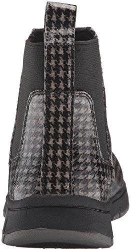 Easy Street Women's Lena Ankle Bootie Black/Grey Houndstooth Gq6YBKxyS