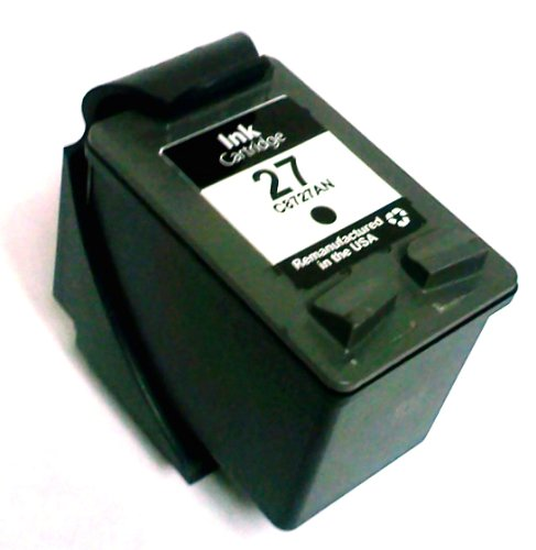 HouseOfToners Remanufactured Ink Cartridge Replacement for HP 27 C8727AN (1 Black)