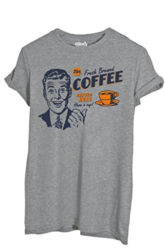 T-SHIRT FRESH BREW COFFEE-MUSH by MUSH Dress Your Style