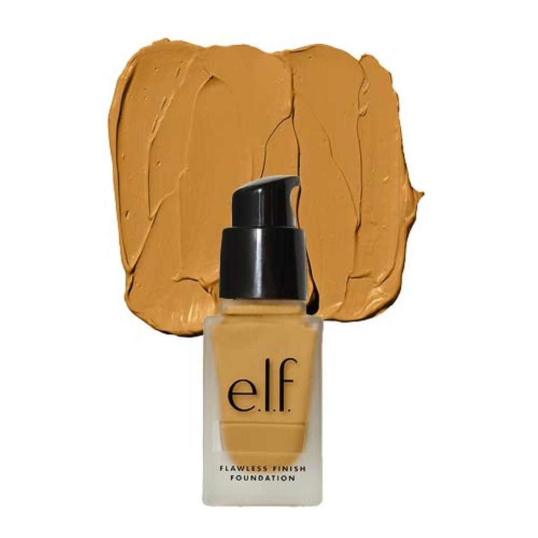 シーサイドしなやかな置くためにパック(3 Pack) e.l.f. Oil Free Flawless Finish Foundation - Almond (並行輸入品)