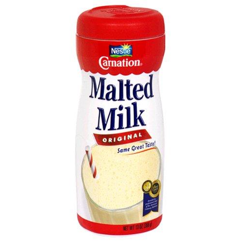 Malted Milk Powder - Carnation Malted Milk, Original, 13-Ounce Jars (Pack of 3)