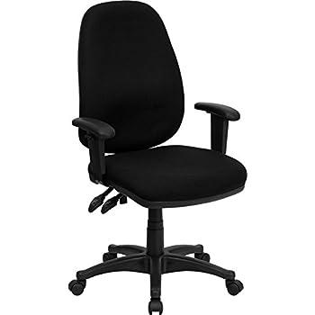 Pleasant Amazon Com Aberdeen High Back Black Fabric Executive Swivel Pdpeps Interior Chair Design Pdpepsorg