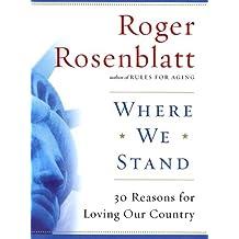 Roger rosenblatt essays