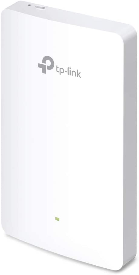 TP-Link Omada AC1200 in-Wall Wireless Access Point – Full Room Coverage, 802.3 af/at PoE Powered, 3× 10/100Mbps Output Ports, MU-MIMO, Beamforming, Easy Installation (EAP225-Wall)