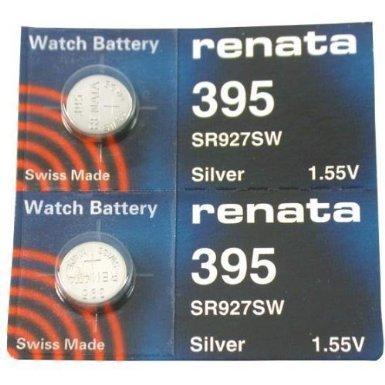 Renata 395 Button Cell watch battery ()
