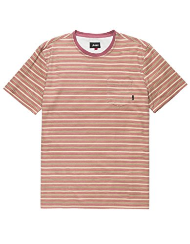 Tee Altamont (ALTAMONT Cromwell Red Pocket Tee, Red Combo, Small)