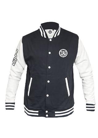Unisex Oxford University Baseball Jacket Navy White XS-XL Varsity ...