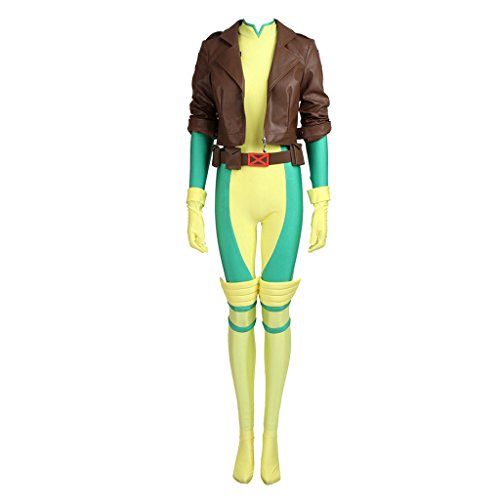 Rogue Costumes X Men (CosplayDiy Women's Costume Sets for X-Men Rogue Cosplay M)