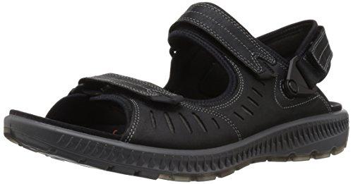 ECCO Men's Terra 2S Athletic Sandal, Black, 42 EU/8-8.5 M US