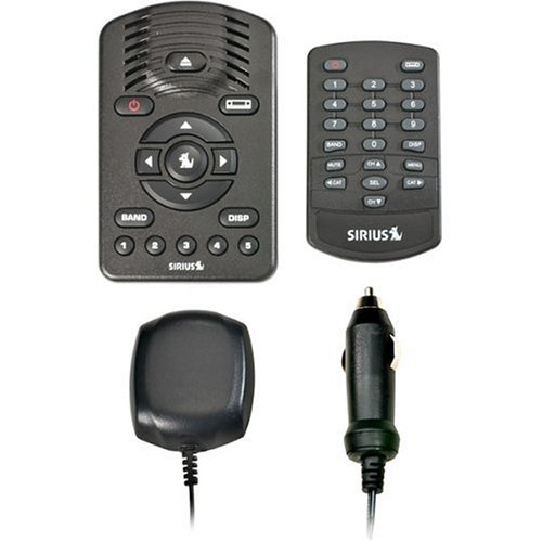 amazon com sirius one sv1 satellite radio with car kit car electronics rh amazon com