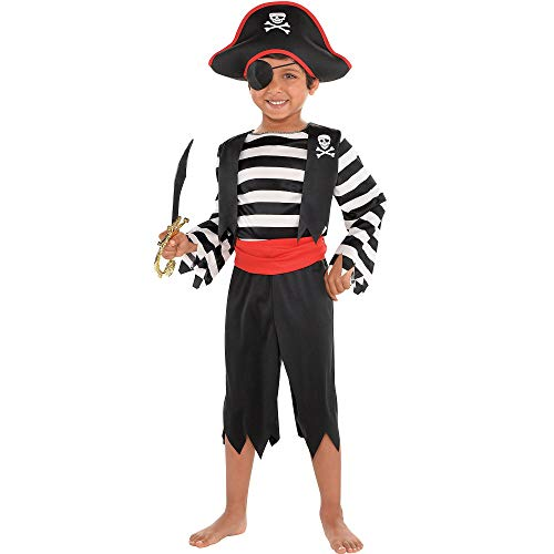 Suit Yourself Rascal Pirate Costume for Toddler Boys,