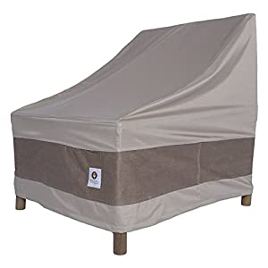 Duck Covers Elegant Stackable Patio Chair Cover from Duck Covers
