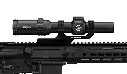 Bundle - Vortex Optics Strike Eagle 1-6 x 24 AR-BDC Reticle with Vortex Cantilever Ring Mount 2in Offset CM-202