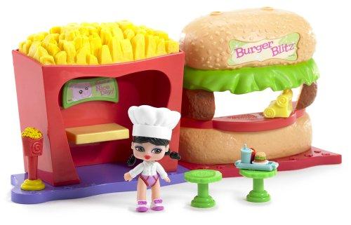 Itsy Bitsy Bratz Babyz  Burger Blitz