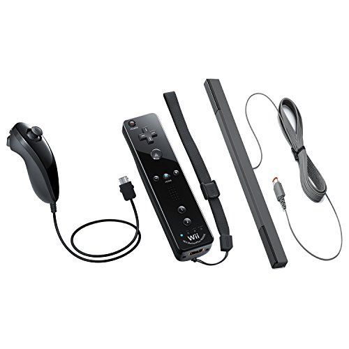 Nintendo Wii & Wii U Bundle Remote Plus with Jacket, Nunc...