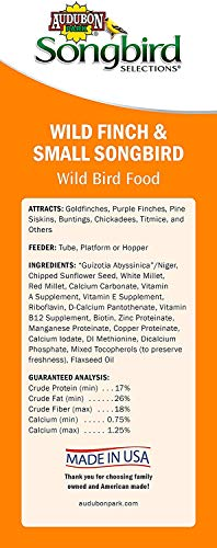Songbird Selections 11976 Wild Finch and Small Songbird Wild Bird Food, 12-Pound (Two Pack)