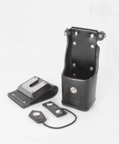 Motorola OEM Leather Holster NTN8381C Swivel XTS1500 XTS3000 XTS3500 XTS2500 XTS5000 MT1500 PR1500