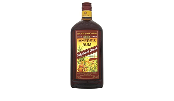 Ron 100% fina de Jamaica 70cl de ron oscuro original de Myers ...