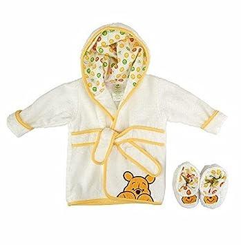 1032d38fdb Amazon.com   Disney Baby Winnie the Pooh Robe Model  (Newborn