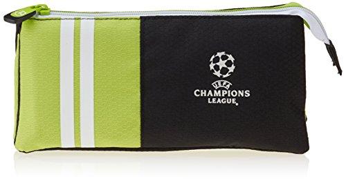 UEFA Champions League New Portatodo 3 Bolsillos, Color Verde