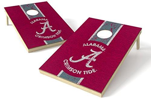 - Wild Sports 2'x3' NCAA College Alabama Crimson Tide Cornhole Set - Heritage Design