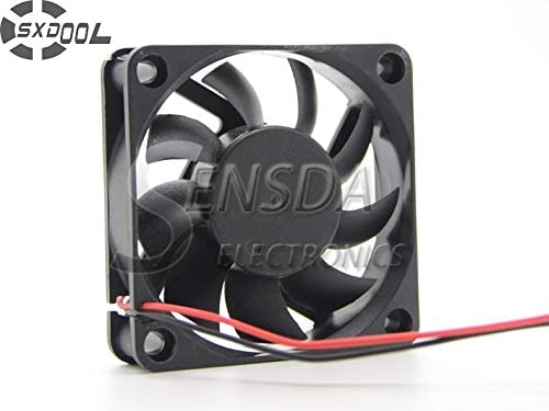 SXDOOL Cooling Fan Manufacturer 6015 6cm 60mm 606015 mm sleeve DC 5V 0.20A 2wire quiet silence low noise