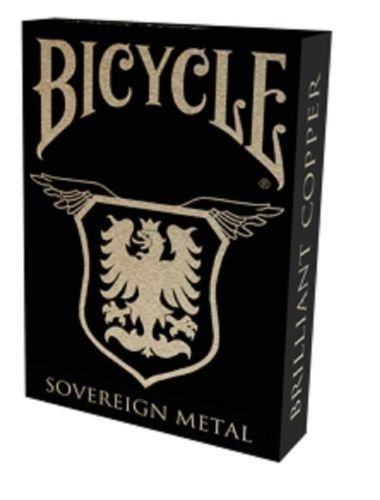 Bicycle Brilliant Copper Playing Cards
