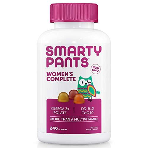 Smarty Pants Women's Complete Multivitamin Dietary Supplement Netcount (240 Gummies), 240Count