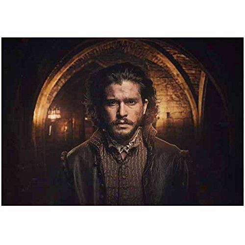 Kit Harington 8 Inch x 10 Inch Photograph Gunpowder (TV Mini-Series 2017) Under Archway kn