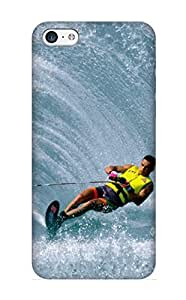 Dionnecortez Anti-scratch And Shatterproof Extreme Sports Phone Case For Iphone 5c/ High Quality Case