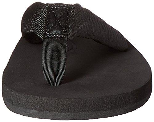 Regnbåge Sandaler Mens Molnet Sandal Svart