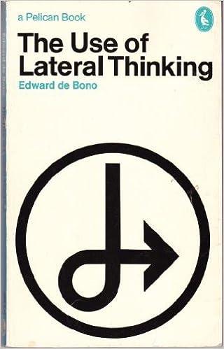 Use Of Lateral Thinking Pelican Bono Edward De 9780140214468