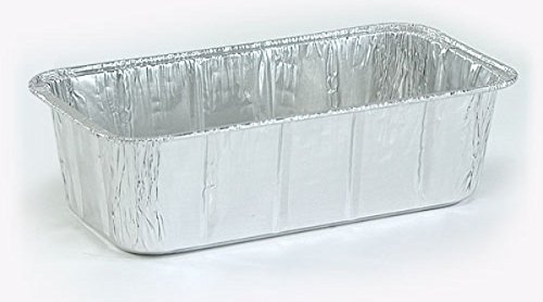 DollarDays 2269716 Nicole Aluminum 2 lbs Loaf Pan - Case of 200