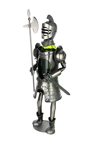 "Wine Bodies Knight Medieval Middle Ages 19"" Metal Wine Bottle Holder Kitchen Home ()"
