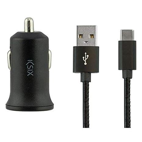 Ksix Cargador BXCRC04 Coche USB Tipo C DE 1: Amazon.es ...