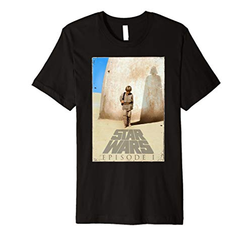 Star Wars The Phantom Menace Anakin Poster Premium T-Shirt