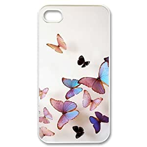 Beautiful butterfly Custom Case for Iphone 4,4S, Personalized Beautiful butterfly Case by runtopwell