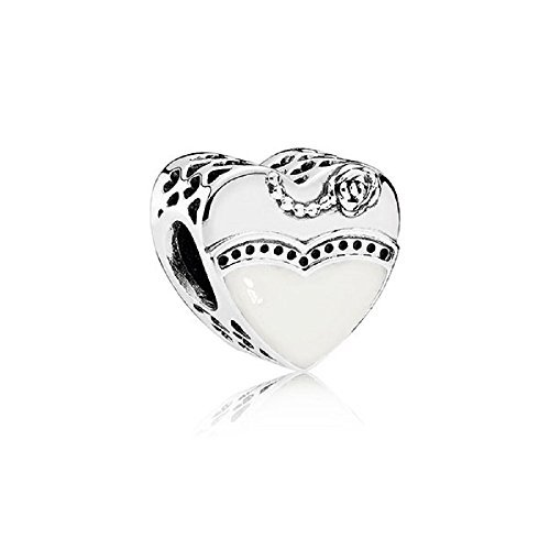 PANDORA OUR SPECIAL DAY CHARM 791840ENMX BRIDE & GROOM by PANDORA