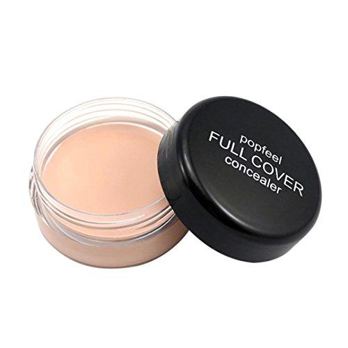 Popfeel Makeup Concealer Foundation Secret Concealer for Women, Staron Cover Everything Concealers Neutralizing Natural Makeup Cream Concealer Corrector Makeup Foundation (A)