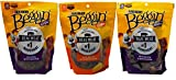 Purina Beggin' Dog Treats 3 Flavor Variety Bundle: (1) Beggin' Strips Bacon, (1) Beggin' Strips Bacon & Cheese, & (1) Beggin' Strips Bacon & Beef, 6 Oz. Ea. (3 Total) For Sale