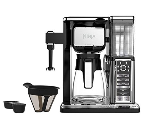 Best Ninja Coffee Bar Glass Carafe System (CF092) with Cookbook and Tumbler (online)