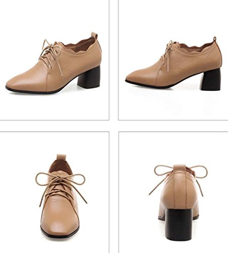 de Correa Alto Negro Marrón 39 Zapatos Color Tamaño Elevación Tacón Talla Verde Hombro Cuadrado Solo de Tacón con Baja Zapatos 36 con 34 un para de Cruzada Marrón Zapatos Mujeres dwRxnUdq