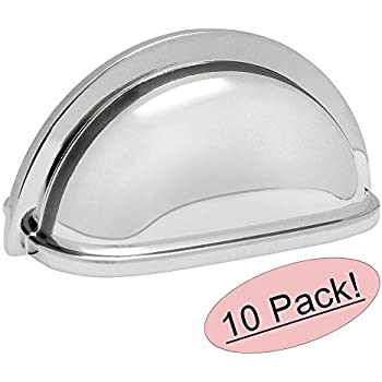 Southern Hills Polished Chrome Drawer Pulls Pack Of 5
