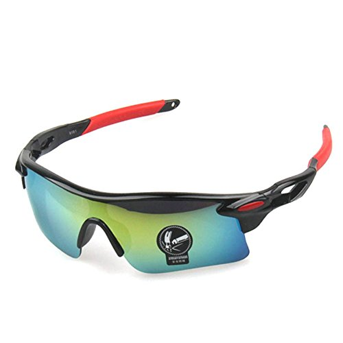 MosierBizne Explosion Colorful Sunglasses Sport Bike Outdoor Riding glasses Windproof Pest - Cocoon Singapore Sunglasses