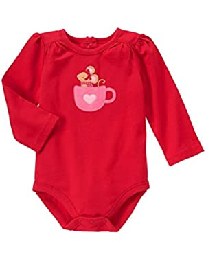 Baby Red Mouse Hot Chocolate Bodysuit